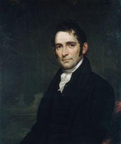 The Reverend John Brodhead Romeyn (ca. 1817–20). William Jewett/Samuel Lovett Waldo. Love his face.