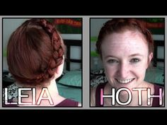 Star Wars Hair - Leia on Hoth - YouTube