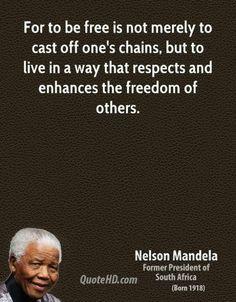 Favorite Mandela quote