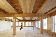 To design its timber-framed building, Hines Interests tapped Michael Green Architects, the firm behind Canada's...