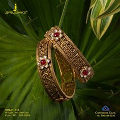Get in touch with us on 990 444 3030 Gold Bangles Design, Gold Earrings Designs, Gold Jewellery Design, Gold Jewelry, Beaded Jewelry, Gold Mangalsutra Designs, Mens Diamond Wedding Bands, Schmuck Design, Fashion Jewelry