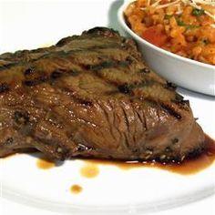 Die beste Steak Marinade @ http://de.allrecipes.com