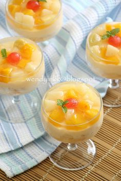 how to make crema de fruta goldilocks