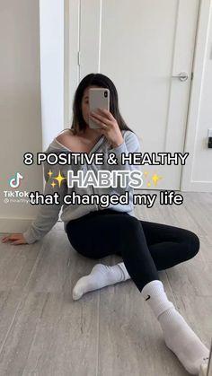 Teen Life Hacks, Life Hacks For School, Useful Life Hacks, Self Confidence Tips, Vie Motivation, Get My Life Together, Positive Self Affirmations, Healthy Lifestyle Motivation, Feel Good Videos