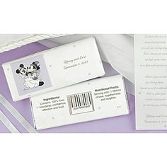 Image Detail for - Mickey Mouse Candy Bar Wrappers | InvitationsByDawn