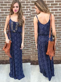 urban bead maxi dress #swoonboutique