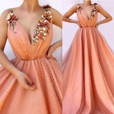 Image may contain: one or more people Elegant Dresses, Pretty Dresses, Formal Dresses, Grad Dresses, Homecoming Dresses, Quinceanera Dresses, Couture Dresses, Fashion Dresses, Fashion Fashion