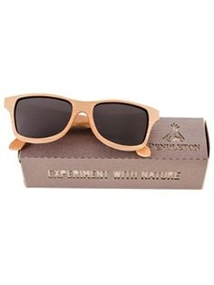 cherry wood sunglasses