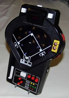 Vintage Tomy Digital Diamond LED-Mechanical Handheld Game, Model 7052, Made in Japan, Circa 1978.