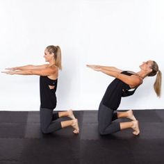 Camel Hinge - The Best Yoga Poses for a Flat Stomach - Shape Magazine