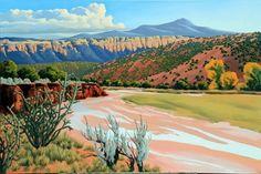 Doug West - Chama Fall - Blue Rain Gallery / Santa Fe New Mexico