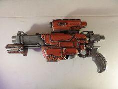 Custom Nerf Vortex Lumitron Warhammer by mazedicer on DeviantArt Nerf Gun, Warhammer 40k, Guns, Deviantart, Weapons Guns, Nerf Rifle, Warhammer 40000, Revolvers, Weapons