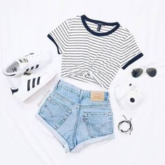 - Mode, Adidas und Outfit-Image - - Mode, Adidas und Outfit-Image , Source by sommermodeideen Cute Lazy Outfits, Casual School Outfits, Summer Outfits For Teens, Teenage Girl Outfits, Girls Fashion Clothes, Teen Fashion Outfits, Teenager Outfits, Stylish Outfits, Fashion Ideas