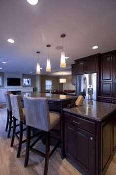 Kitchen Islands with Seating   JP&CO :: Kitchen Island Ideas We Love