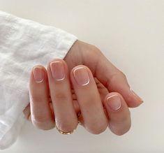 Cute Nails, Pretty Nails, Diy Nails, Opal Nails, Mens Nails, Tie Dye Nails, Watermelon Nails, Bridal Nail Art, Minimalist Nails
