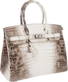 Hermes-Ultra-Rare-30cm-Matte-White-Himalayan-Crocodile-Birkin-Bag Want this sooooo bad!!