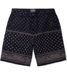 Grand Scheme Black Bandana Short | HYPEBEAST Store. Shop Online for Men's Fashion, Streetwear, Sneakers, Accessories