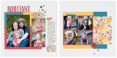 NEW 6 Page Scrapbooking Layout ONLINE Class!