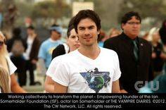 Working collectively to transform the planet - Empowering founder of the Ian Somerhalder Foundation (ISF), Ian Somerhalder