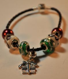 A True Christmas Present Bracelet  On SALE NOW for only $10!! Come check it out by EnchantedJewelry2012  on Etsy