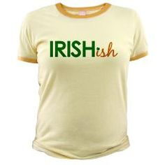 The perfect St. Patrick's Day shirt for those not quite Irish.
