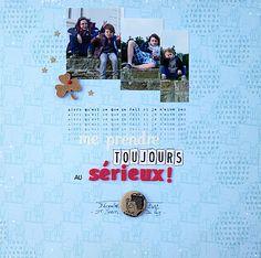 sérieux - layout by agnès and co