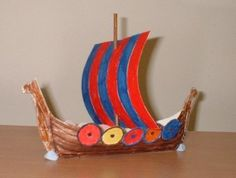 Viking Longboat Ship Models | ... whole class makes ships then you have a Viking fleet ready to sail