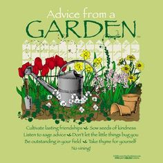 Wisdom Sayings & Quotes    QUOTATION – Image :    Quotes Of the day  – Description  What your garden can teach you!  Sharing is Caring – Don't forget to share this quote with those Who Matter !