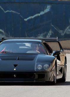 Ferrari F40-- what a knockout!
