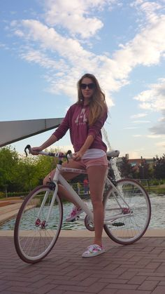 single speed roadbike, pink edition.