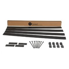 E-Z Connect 1704BK-16C Professional Landscape Edging Project Kit, 16-Feet, Black by E-Z Connect®. $34.95. Anchoring accessories included. Designed to provide a sleek, high-end look similar to metal edging products. Heavy, contractor-grade 4 In. high landscape edging system in easy-to-handle 4 ft. lengths. Clean thin top edge to delineate border. Unique, patented locking connection system and anchoring method. Makes installing high quality landscape edging simple for do ...