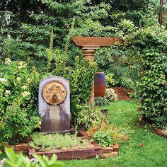 décoration de jardin d'eau