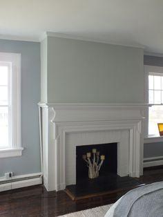 Living Room Ideas Mink benjamin moore silver mink in tv room | hicks house | diys crafts
