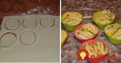Voňavé chlebové chuťovky z formy na muffiny. Jednoducho neodolateľné!