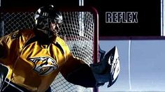<p>NHL goalies rely upon the unconscious decisions made by their reflexes to prevent opponents from scoring</p>