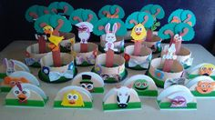 Ideas Para, Birthday Cake, Party, Animals Of The Rainforest, Centerpieces, Farm House Tables, Bebe, Birthday Cakes, Receptions