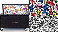 Mon meuble en hommage à Keith Haring.