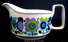 1960s Staffordshire Potteries (England) 'Weston' Gravy Jug by Elayne Fallon | Flickr - Photo Sharing!