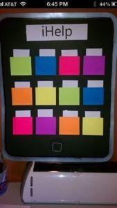 Cute idea for Classroom Job!!! Definite must!