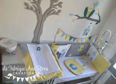 décoration chambre enfant bébé hibou étoiles turquoise caraïbe ...