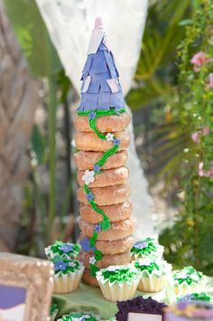 The doughnut tower house
