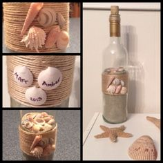Beach wine bottle!