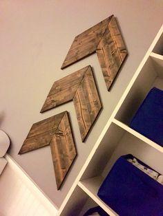 Chevron Wood Arrows Wooden Aztec Arrows by HandmadeHartfelt