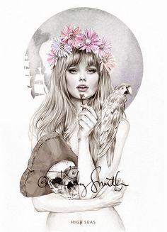 Fashion illustration // Kelly Smith