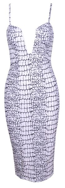 Safir Geo Snake Body-con Dress from www.RawGlitter.com <3 10% OFF ANY ITEM! Use Code:  PINUP10 at checkout!  http://www.rawglitter.com/collections/new-arrivals/products/safir-geo-snake-body-con-dress