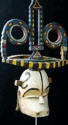 Okoroshi Oma mask  Ibo people, Southern Nigeria