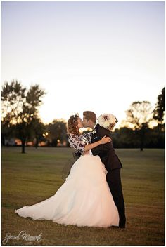 Sunset Wedding Pictures, Sunset Wedding Portraits, Southern Wedding Pictures  The Rogers Wedding | 10-19-2013 | Fort Smith Arkansas Wedding Photographer
