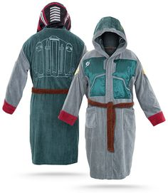 ThinkGeek :: Star Wars Boba Fett Bathrobe. i need this like i need air.