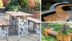 23+ kreativních nápadů na zahradní nábytek ze dřeva, který si můžete vytvořit sami! Krása! | Vychytávkov