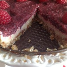 raspberry cheesecake Raspberry Cheesecake, Tiramisu, Challenge, Ethnic Recipes, Food, Yummy Cakes, Oven, Easy Meals, Recipes